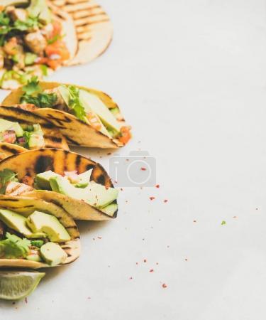 Healthy corn tortillas