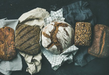 Various bread selection