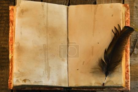 Photo for Vintage background, education concept - Royalty Free Image