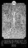 Dryad fantasy illustration