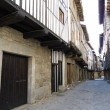 Historic buildings in the old city of Salamanca. T...