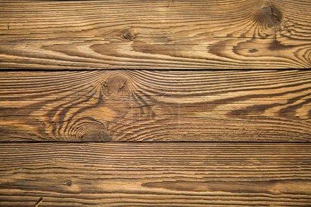Photo pour Photo de texture brune en bois, planche horizontale - image libre de droit
