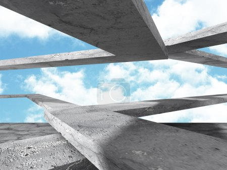 Concrete abstract architecture