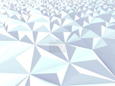 Techno Triangular Poligon Background