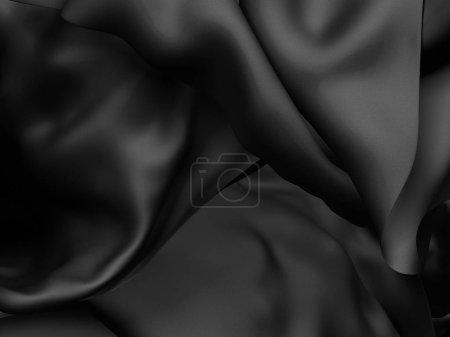 Black luxury cloth