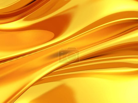Golden silk cloth