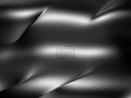 Dark Glossy Metallic Background