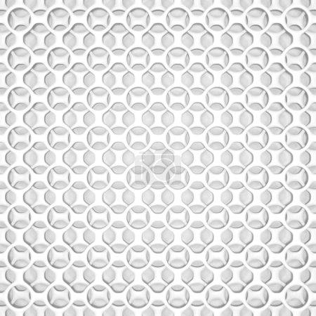 Photo pour Motif géométrique blanc, fond de conception. illustration de rendu 3D - image libre de droit