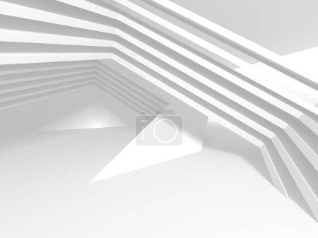 Foto de Fondo de diseño moderno de arquitectura abstracta. Ilustración de render 3D - Imagen libre de derechos