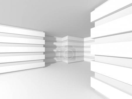 White Architecture Design Background