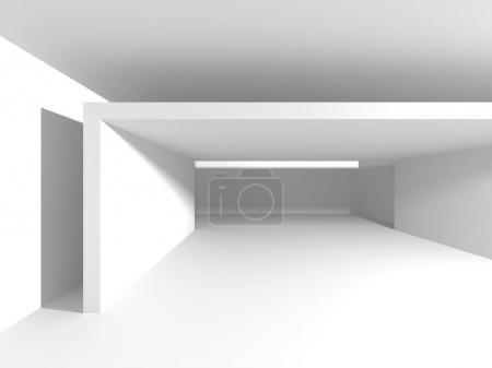 Futuristic White Architecture Design