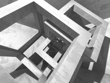 Abstract concrete architecture background