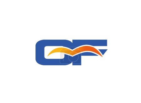 FC company linked letter logo