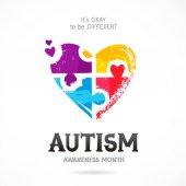Autism Awareness Month Puzzle