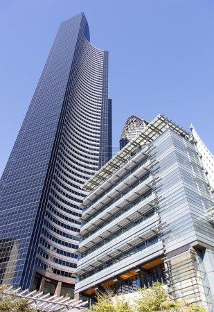Photo pour Bâtiments modernes dans le centre de Seattle (Washington ). - image libre de droit