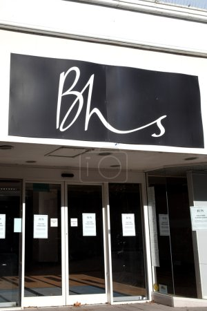 BHS department store closed down