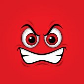 red mad emoticon