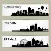 United States of America city skylines