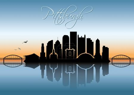 pittsburg city skyline