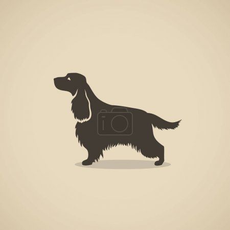 English cocker spaniel dog
