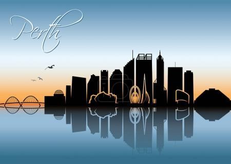 Perth skyline - Australia