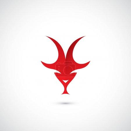 red goat symbol