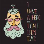 hero dad four