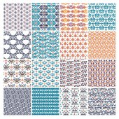 Vector set of various patterns