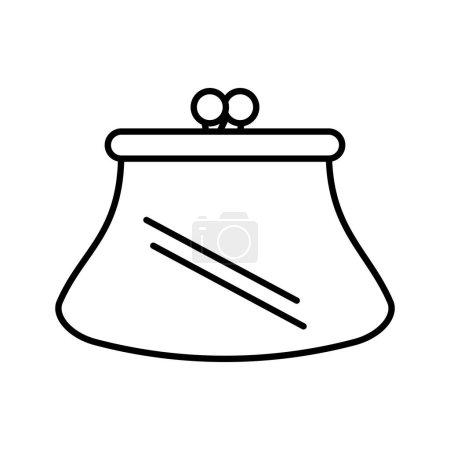Purse woman isolated icon vector illustration desi...