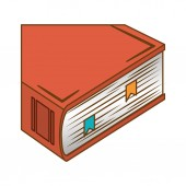 Orange encyclopedia icon image