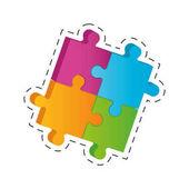 puzzle solution image cut line