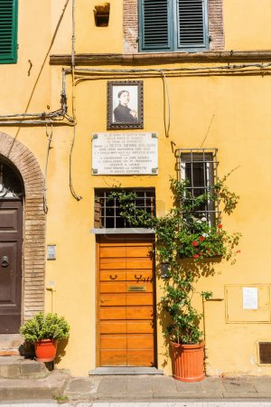 house where Gemma Galgany died, Lucca, Italy