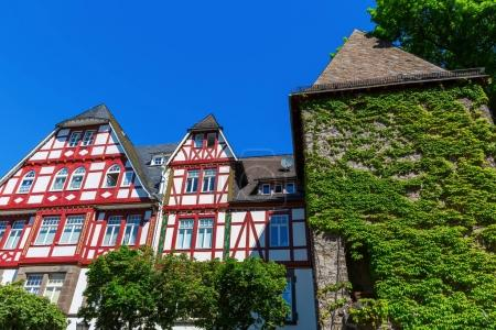 old half-timbered house in Herborn, Germany