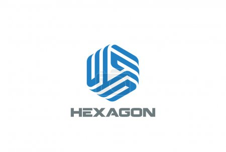 Hexagon Logo abstract corporate design