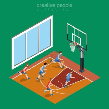 basketball court playground