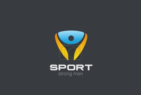 Sport Fitness Gym Logo