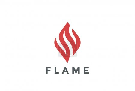 flame business logo
