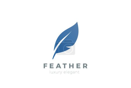 Feather business logo