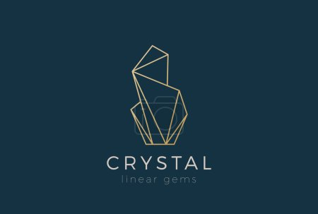 Crystal Gems Logo design