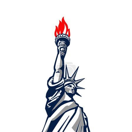 Liberty statue monument