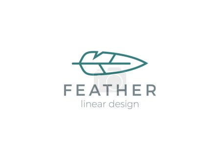 Quill Feather Pen Logo