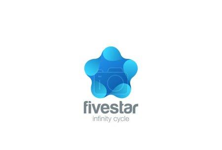 Star abstract Logo design