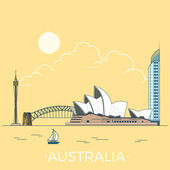 Australia country design template