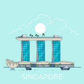 Marina Bay Sands in Singapore country