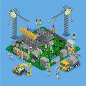 construction industrial building