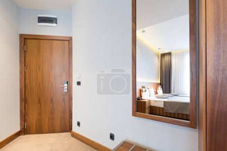 Photo for Corridor with closet in hotel room - Royalty Free Image