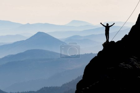 présentation d'une vue du journal du sommet d'un heureux et sucer