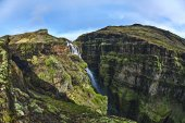 travel and Hiking to Icelands highest waterfall