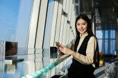 Woman professional specialist in the economic sphere