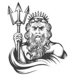 Neptune with Trident